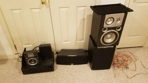 JBL surround sound Onkyo Reciever Best Offer for Sale in Mount Airy, MD