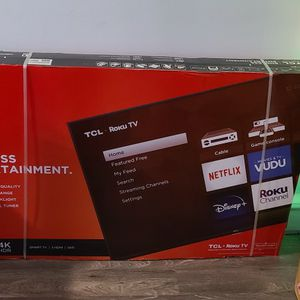 55 Inch TCL 4K Roku Smart TV for Sale in Bethpage, NY