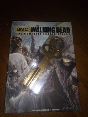 Season 4 Walking Dead with prison key for Sale in Kingsport, TN