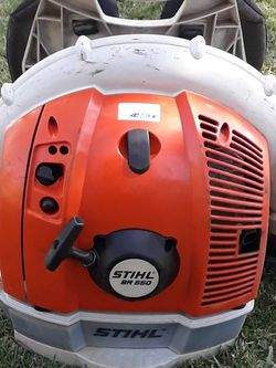 Stihl BR550 Leaf Blower Used Works Good for Sale in Whittier,  CA