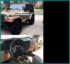 ֆ1OOO Jeep Wrangler for Sale in Pasadena, CA