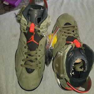 Jordan 6 Size(9.5) Travis Scott for Sale in Palo Alto, CA