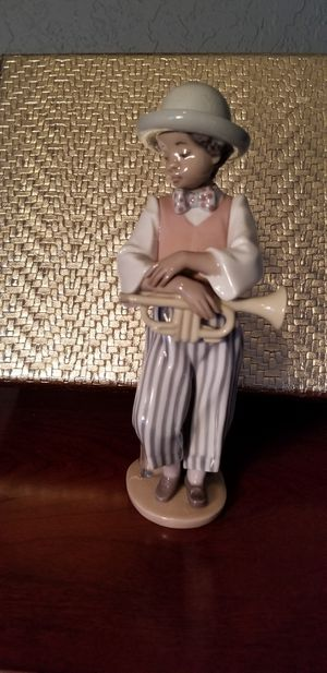 Lladro Black Legacy Figurine Jazz Horn for Sale in Pembroke Pines, FL