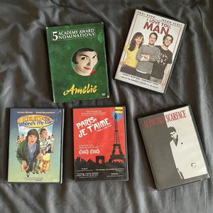 Lot Of 5 DVD's for Sale in Los Angeles, CA