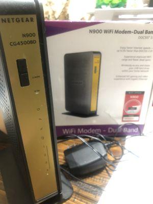 Netgear N900 WiFi modem dual band for Sale in Phoenix, AZ