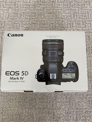 Canon EOS 5D Mark IV Full Frame DSLR NEW for Sale in Sacramento, CA