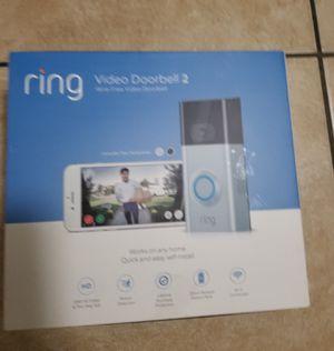 Ring Video Doorbell 2 for Sale in Pembroke Pines, FL