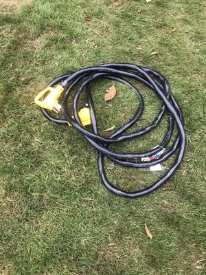 50 amp rv cord 25' for Sale in Blaine, WA