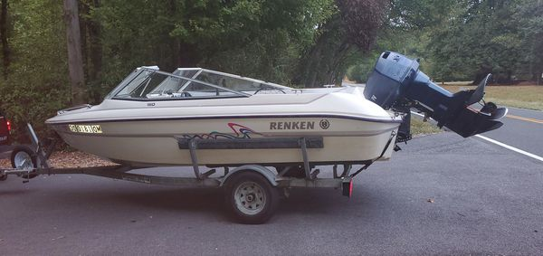 96 speed boat with 110hp outboard