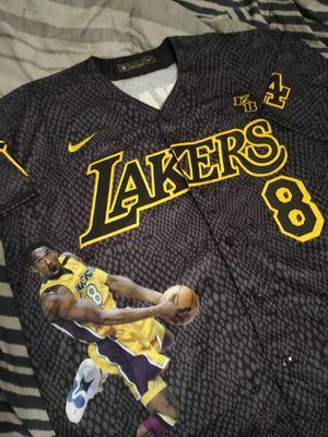 Mamba Print Lakers Baseball Kobe Bryant Jersey for Sale in Long Beach, CA