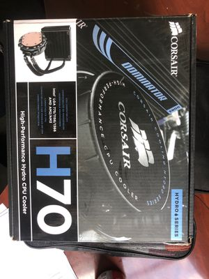 Corsair h70 cpu cooler for Sale in Lombard, IL