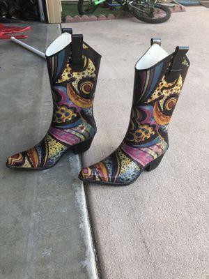 Corkys Woman rain boots size 6 for Sale in Escondido, CA