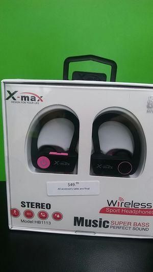 X-max wireless sport headphones for Sale in Fresno, CA