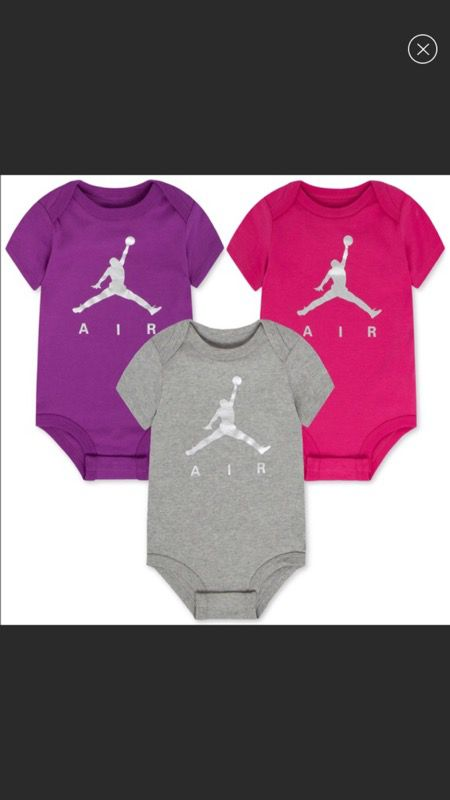 Air Jordan 3 piece bodysuit