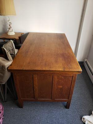 Oak desk for Sale in Salem, MA