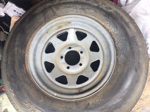 Trailer tire and rim for Sale in San Diego, CA