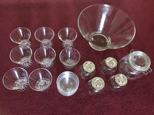 Glass bowls and jars for Sale in Lowell, MA