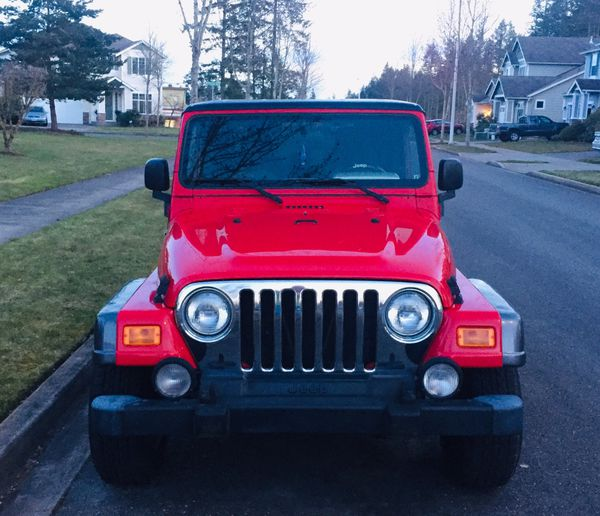jeep wrangler 4x4 2004 columbia edition for sale in olympia wa offerup. Black Bedroom Furniture Sets. Home Design Ideas