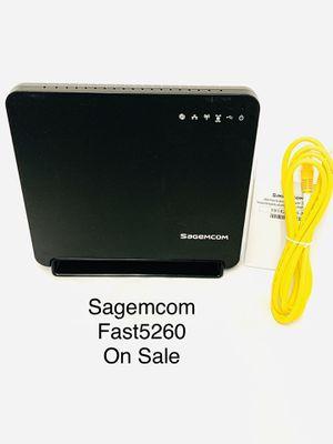Internet Router Sagemcom Fast5260 for Sale in Carson, CA