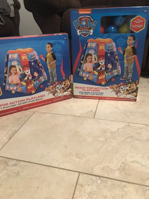 Paw patrol playland for Sale in Grand Prairie, TX