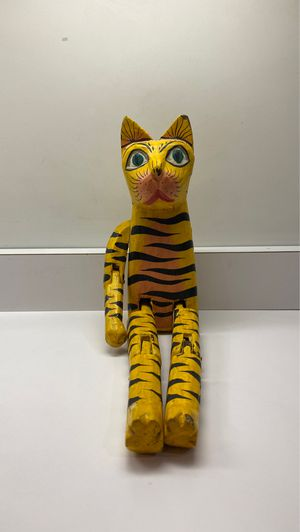 Antique wooden Shelf Sitting Cat for Sale in Floral Park, NY
