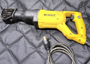 Dewalt Reciprocating corded saw for Sale in Sacramento, CA