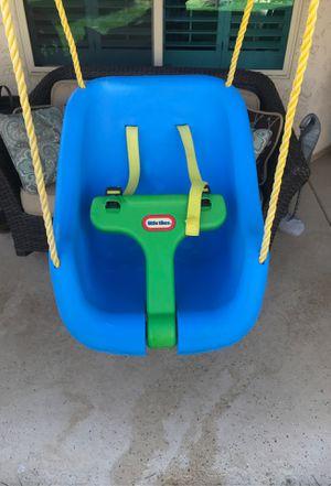 Little Tikes Blue Swing Chair for Sale in Mesa, AZ