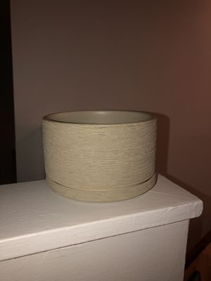 6in Diameter Ceramic Planter for Sale in New York, NY