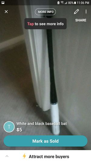 Baseball bats I have one more other then this for Sale in Pleasant Grove, UT