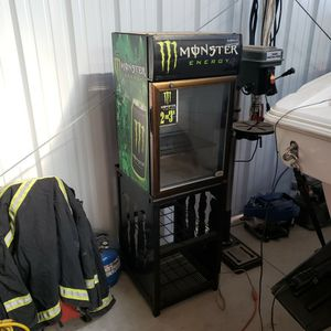 Monster Energy Refrigerator Cooler And Rack for Sale in CA, US