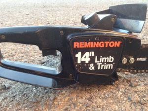 "Remington 14"" chainsaw for Sale in Reno, NV"