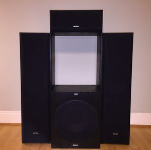 SONY Speakers, Sub for Sale in Charlotte, NC