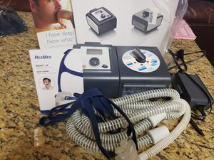 Respironic resmstar auto cflex. Cpap oxygen humidifier machine for Sale in Brandon, FL