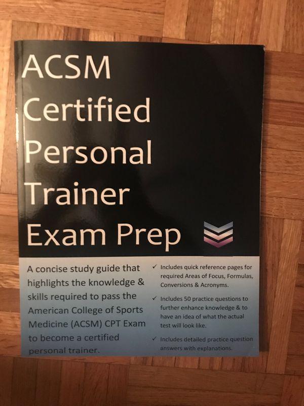ACSM CPT Exam Prep