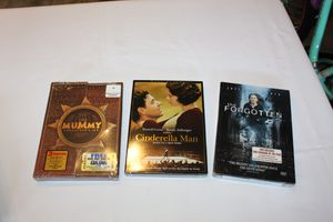 3 Brand New DVD's Mummy, Cinderella Man and Forgotten for Sale in Mountlake Terrace, WA