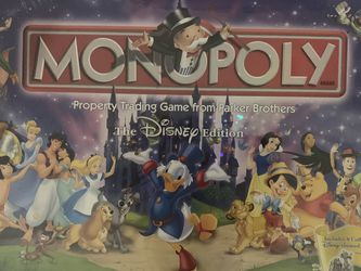 Disney Edition Monopoly for Sale in Boca Raton,  FL