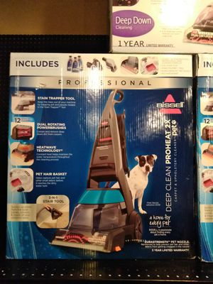 Brand new Bissell professional deep clean carpet shampooer for Sale in Modesto, CA