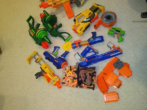 Nerf gun lot for Sale in Wayne, IL