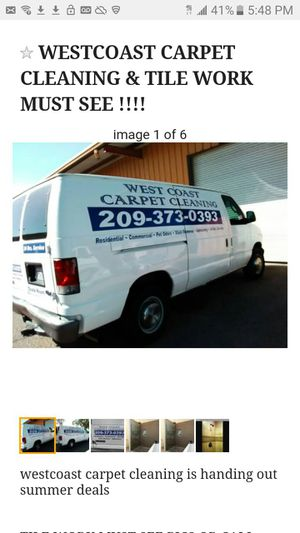 westcoastcarpetcleaning and car painting for Sale in Stockton, CA
