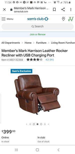 Harrison rocker recliner new for Sale in Pataskala, OH