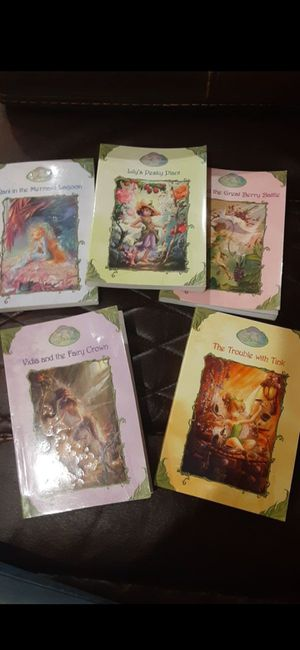 Disney Fairies book set only for $14 original price in total was $29 .92 for Sale in South Houston, TX