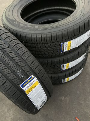 235/65/17 SET OF 4 NEW TIRES GOODYEAR ASSURANCE ALL SEASON for Sale in Los Angeles, CA