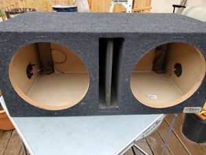 """Dual 12"""" Sub Box for Sale in Woodburn, OR"""