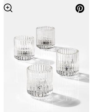 Pleated Glass Votive Candle Holders (76 total) for Sale in Aliso Viejo, CA