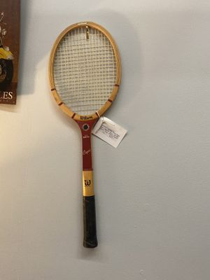 Wooden Wilson Capri vintage tennis racket for Sale in Dallas, TX