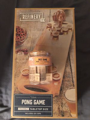 Beer pong and dice game for Sale in San Clemente, CA