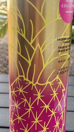 Starbucks 2020 Golden Pineapple Steel 16 Oz Tumbler for Sale in North Bend,  WA