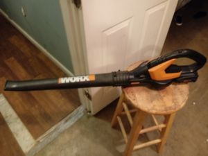 Worx cordless power blower for Sale in Avon Park, FL