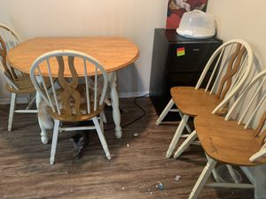 Wooden chairs and table for Sale in Garland, TX