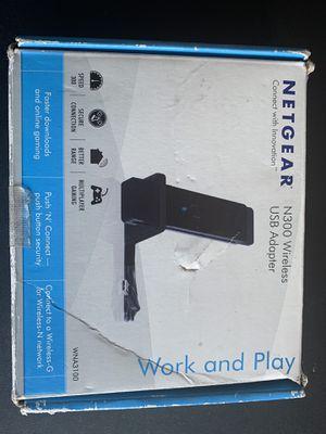 NETGEAR N300 WIFI USB ADAPTER for Sale in Corona, CA